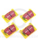 EBCDP4627 Yellow Stuff Pad Set - Mini Sport Alloy Calipers