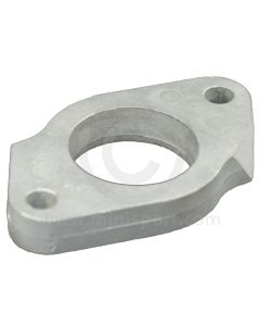 """HS4 1.5"""" SU carburettor alloy spacer block 13.5mm thick"""