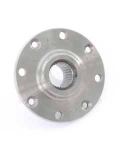 """21A1270HD Hardened EN24 drive flange for Mini Cooper S and early 1275GT models with 7.5"""" brake discs (GBD101) and 10"""" wheels, ideal for competition use."""