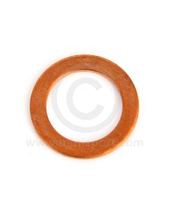"""233220A Copper sealing washer for 3/8"""" clutch and brake pipe unions."""