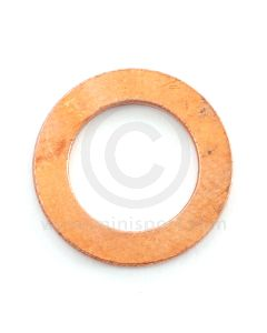"""3h550 Copper washer for 7/16"""" clutch and brake pipe unions."""