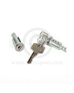 9/00197 Mini Door Lock Barrel Set - MK1