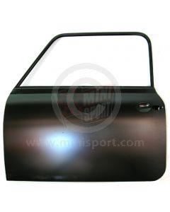 BDA360110 Classic Mini LH Door with safety bar - Genuine