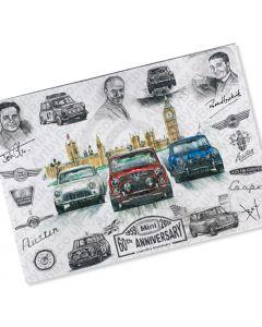 Limited Edition Paddy Hopkirk print by ArtbyBex
