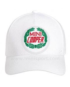 Mini Cooper White Baseball Cap by MINI