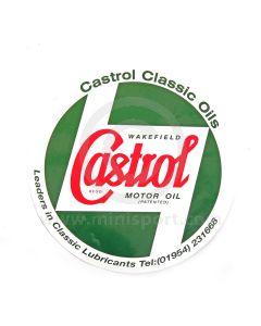 CASSTR596 Mini Castrol Bodywork Sticker