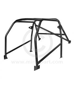 Custom Cages Six Point Bolt-In Roll Cage for Classic Mini