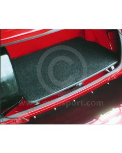 CK951 Carpeted boot board for Mini models '62-'80 with single petrol tank