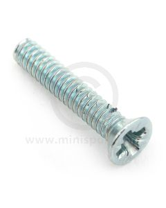 CMZ212 Screw for mounting the 14A6833 nylon door buffer to Mini Mk1 and Mk2 models.
