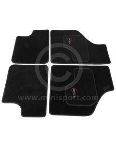 MCPIS.CM-SL Cooper Logo Luxury Binded Carpet Mat Set