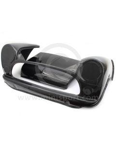 CUR006W Mini Carbon Fibre Weave Front inc Removable Bonnet