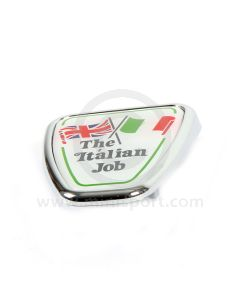 DAB101130 Mini Italian Job Bonnet Badge