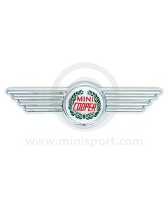 Rover Cooper Wreath Bonnet & Boot Badge 1990-96