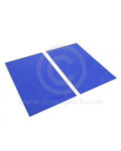 Rally Mud Flaps - 4mm Blue