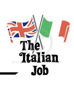 Italian Job Decal Kit - - for White Minis