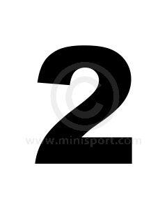 Race Numbers - 11''
