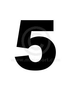 Race Numbers - 11'' - 5