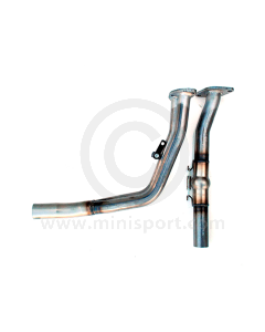 Maniflow Downpipe with Link Pipe - Injection