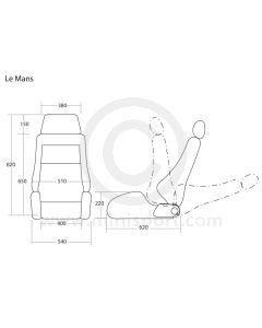 Cobra Le Mans Seat