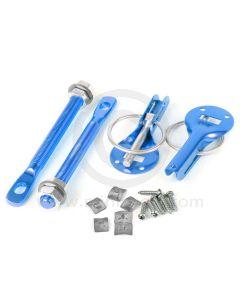 Quick Release Bonnet Pins - Blue