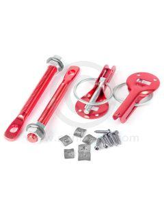 Quick Release Bonnet Pins - Red
