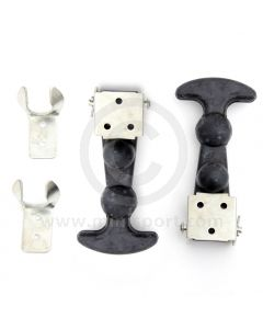 Large Mini Bonnet Hooks - rubber