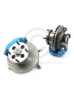 Mini 7.5'' Disc Brake Assemblies & Alloy 4 Pot Calipers