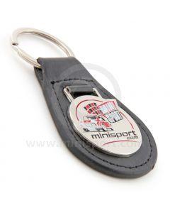 Mini Sport Leather Keyring