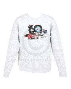3 Minis Sweatshirt in Heather Grey - Mini 60