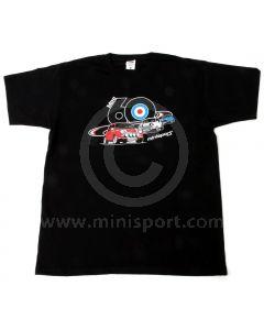 Black 3 Minis T Shirt - Mini 60