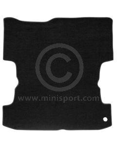 Black - Rear Load Area Carpet - Mini Van LHD