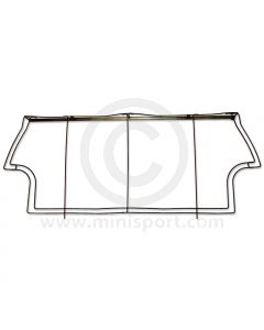Classic Mini Rear Seat Squab Frame by Newton Commercial