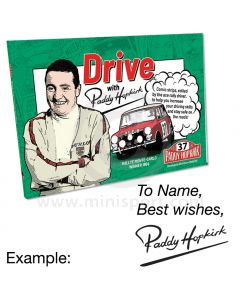 Drive with Paddy Hopkirk Book - Personalised & Signed by Paddy Hopkirk