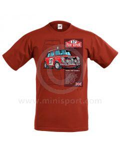 33 EJB Mini T Shirt - Red