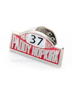 Paddy Hopkirk Lapel Badge