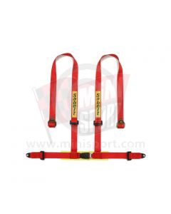 Sabelt Clubman 4 Point Harness - Bolt Fixing - with Harness Pads