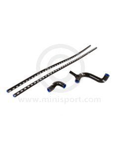 SAMTCS-19C-BLK Mini Silicone Hose Kit - Cooper S - Black
