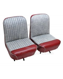 Mini 1959 Front Seat Covers -Welded type Fleck