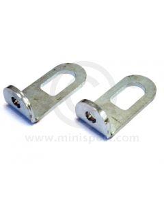 Mini Engine Lift Brackets - Pair - Plated