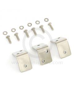 Pick Up Tilt Frame Brackets - Polished Stainless