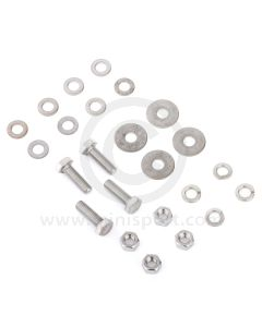 SMBFK015 Mini engine mounting to subframe fitting kit for both sides in stainless steel