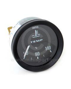 BT2240-00B Smiths Water Temperature Gauge black face & black bezel