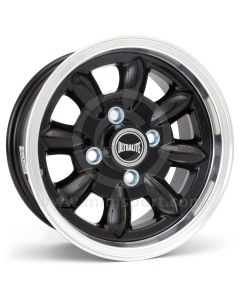 "5.5 x 12"" Ultralite Mini Wheel - Black"