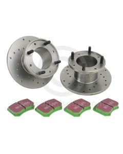 SSBK01S Surestop brake kit - cooper S - 7.5'' discs