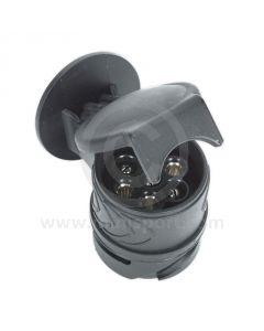 Socket Conversion Adaptor 13-Pin Euro - 7-Pin N-Type 12V