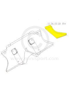 Classic Mini RH Toe Board End Repair
