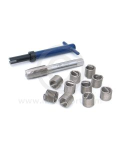 TOL1REC2515 5/8'' UNC thread size, V Coil Helicoil kit for repairing damaged thread in the Mini gearbox casing where the magnetic sump plug (DAM7335) screws in.