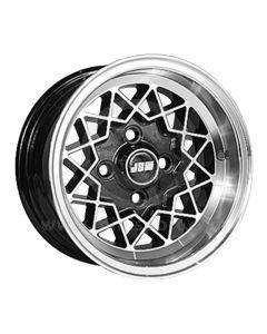6 x 12 Rally Special Wheel - Black Hi-Lite