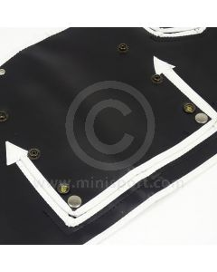 Winter Grille Cover Mk1  - 3 open pockets type