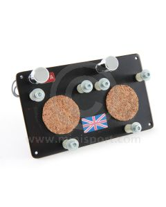 Stopwatch Holding Panel - Aluminium Medium Dual inc 2 x Pea Lights